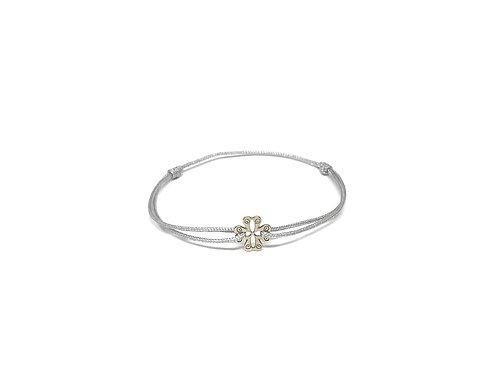 """Bracelet Mini symbole """"trefle"""" argent 925"""