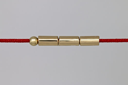 Bracelet morse lettre J c'too or jaune 18 carats