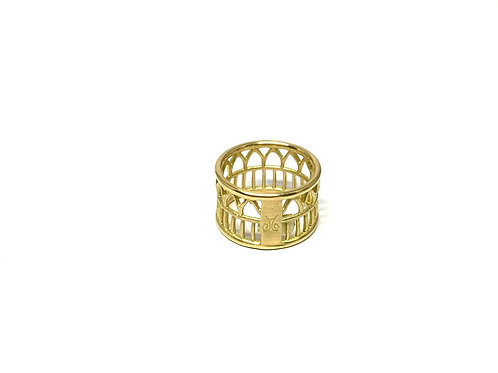 Bague Circus or 18ct Grande