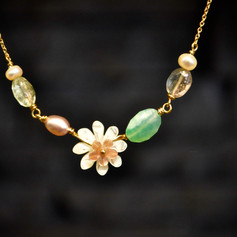 Collier Flower city or18ct