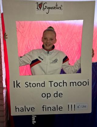Anne Mosterd naar NK Turnen!