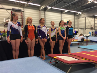 Carlyn Zweekhorst 16e op halve finale NK