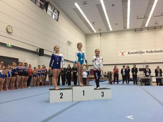 Jayda van der Haar 3e tijdens eerste plaatsingswedstrijd!