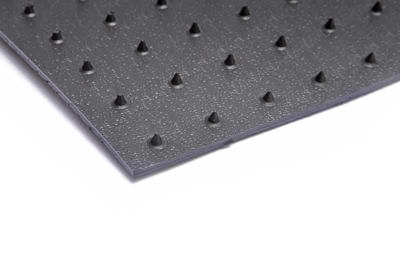 microspike PEHD geomembrana folija
