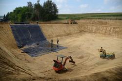 gradnja zbiralnika gnojnice