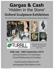 Gargas & Cash 'hidden in stone' Oxford sculpture exhibition