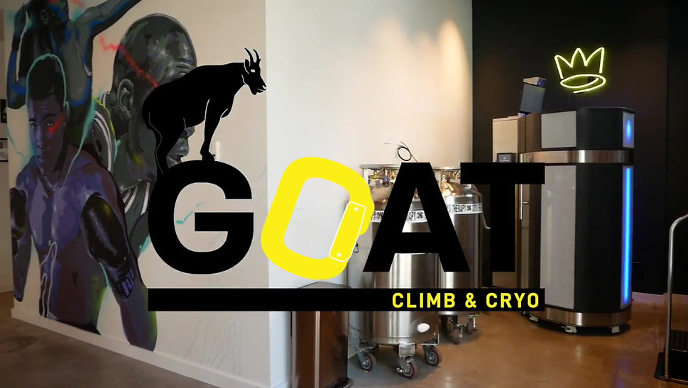 Tour of GOAT Climb & Cryo
