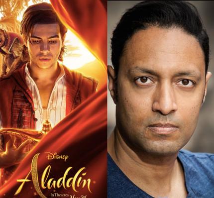 Fabio Abraham - Voice over scene for Aladdin (2019)