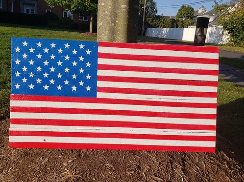 Pallet Flag #2 by Josh Herman