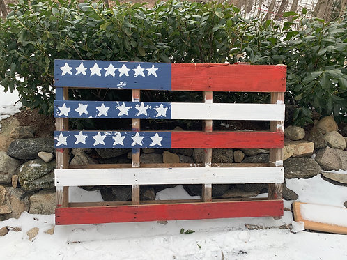 Pallet Flag #3 By Jeff