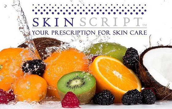 skin script your prescription for skin c