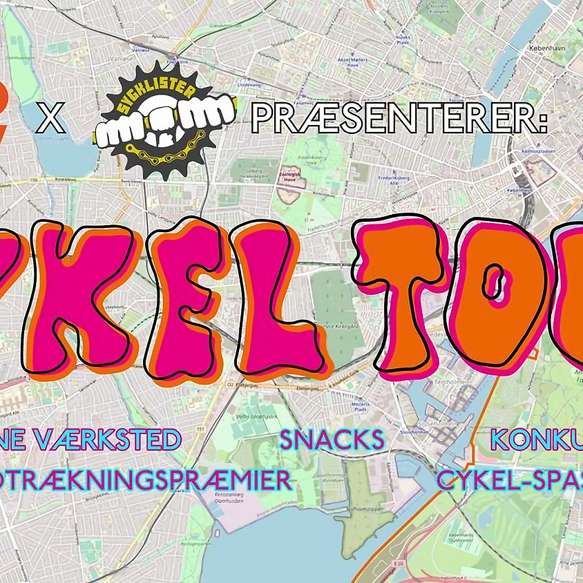 Cykel Touring v/ GRO SELV & Sygklister