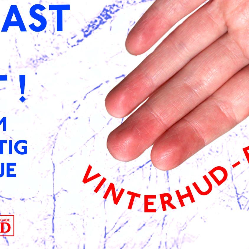 (UDSOLGT)Forkast Din Plast ! - Vinterhud Edition