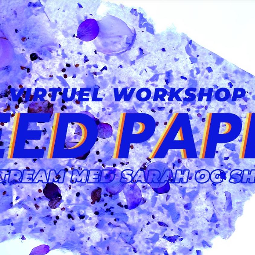 VIRTUEL WORKSHOP: Seed paper kort