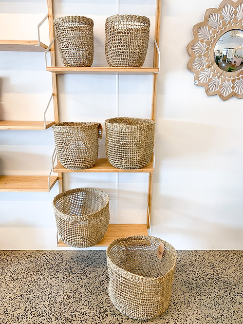Seagrass Baskets - 6 sizes