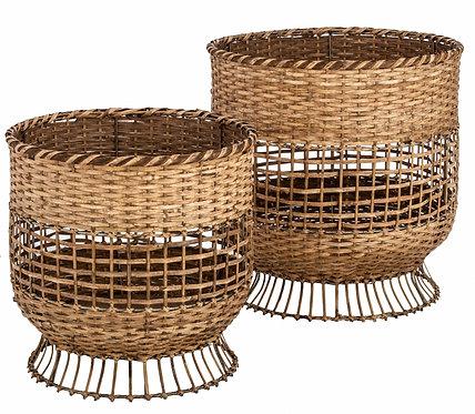 Coral Baskets