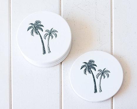 Coco Palm Duo Coasters