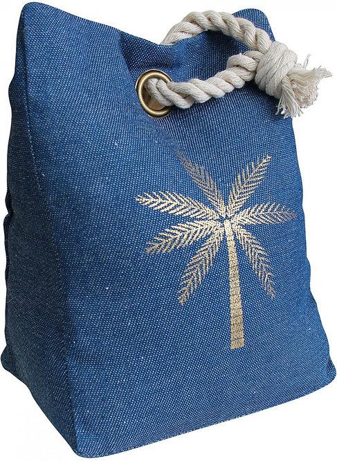 Doorstop - Navy Palm