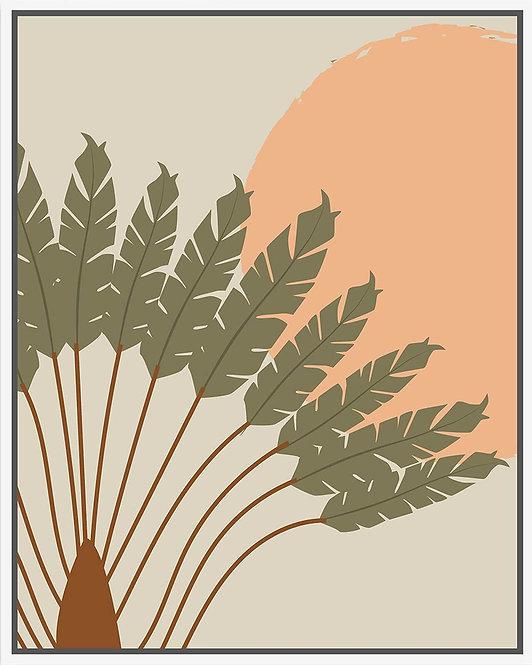 Fantail Palm - 80x100cm