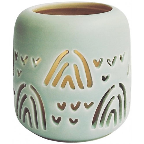 Tealight Candle Holder - Mint