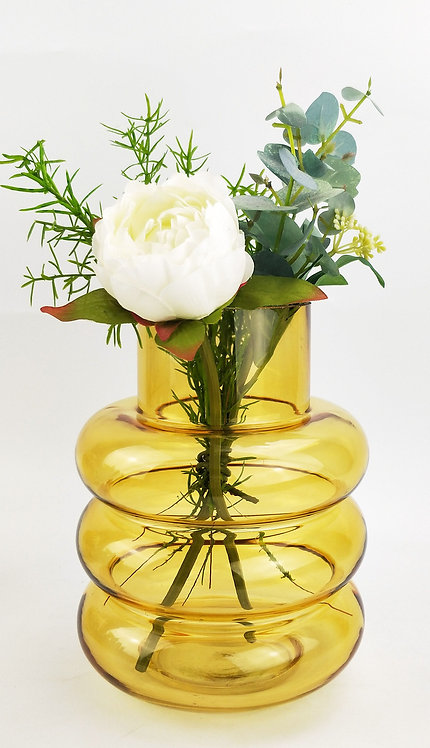 Tommy Ring Glass Vase