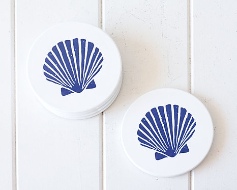 Blue Shell Coasters