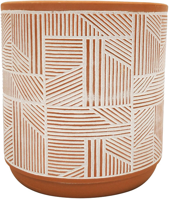 Corby Line Terracotta Planter