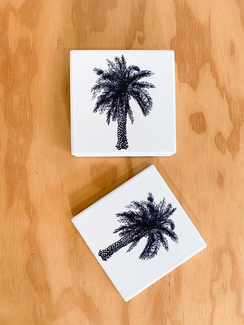 Coaster - Palm Sketch