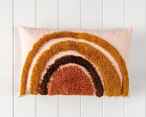 Tufted Cushions - Rainbow - 50x30cm
