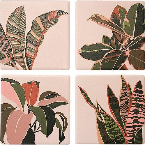 Coaster - Boho Leaves