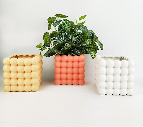 Addie Bubble Planters