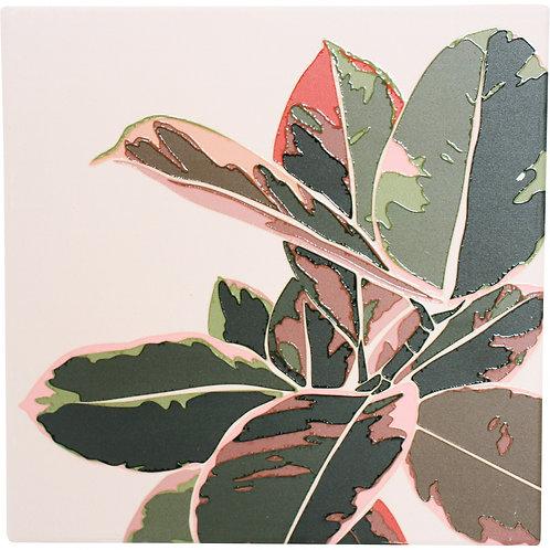 Boho Leaf Trivet