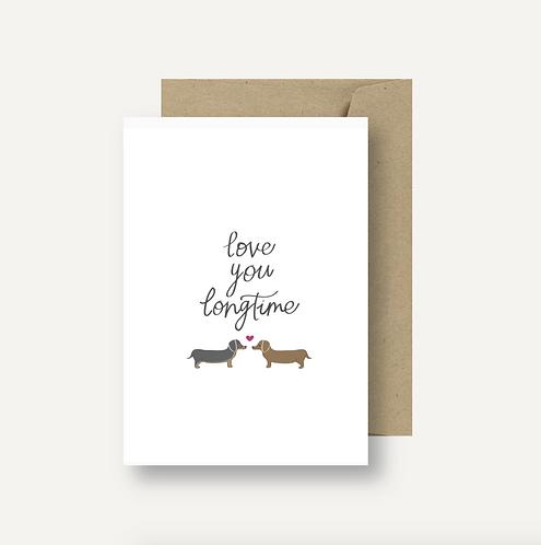Card - Love You Longtime