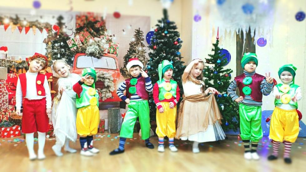 Новогодний утренник в Центре Детства