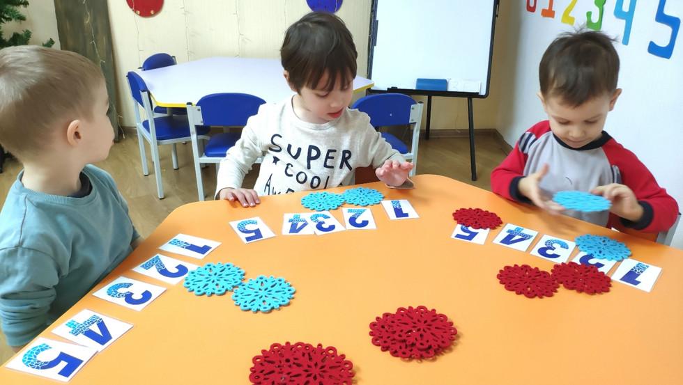 Заняття з логіки та основ математики для дошкільнят