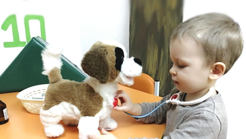 Тематичні заняття для дітей: Айболит