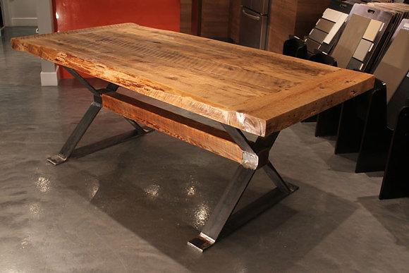 """Heva X beam"" table"