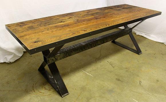 """""""Métalose X-beam"""" table"""