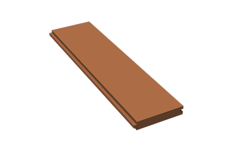 "Red Pine Flooring, 4"" -"