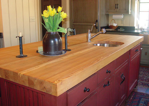 Clear Pine countertop