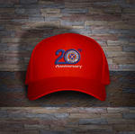 Anniversery Cap in red
