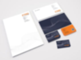 Corporate identity design for Fenland RP Ltd