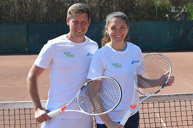 Tennisfreaks Alex und Kristina Netz.jpg