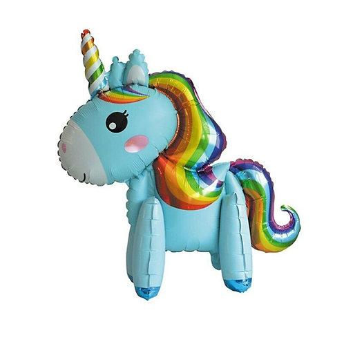 Blue Rainbow Unicorn Stand