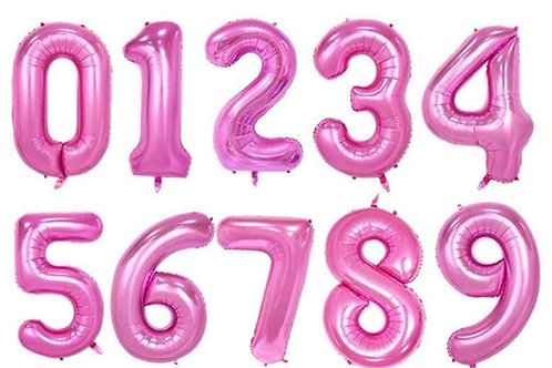 Pink 40inch Number