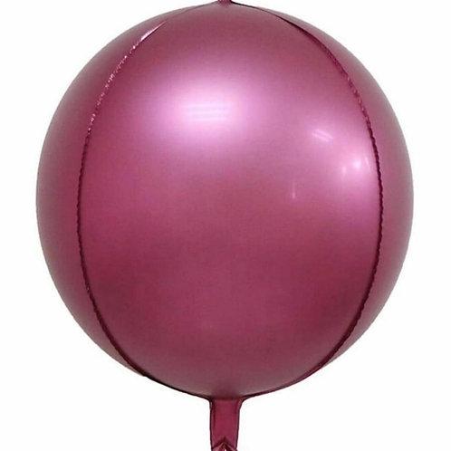 Metallic Pink 4D Sphere
