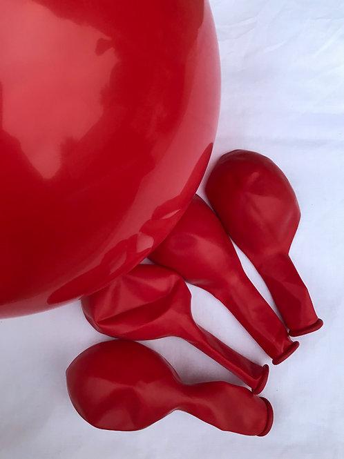 Poppy Red Latex