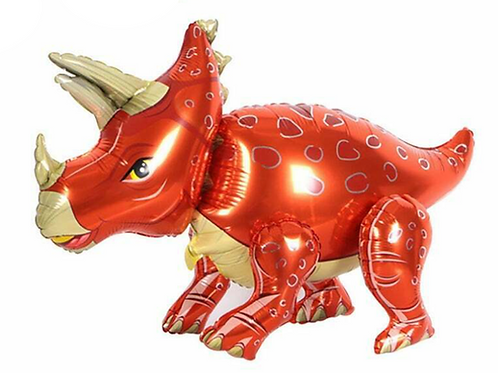 Red Triceratops