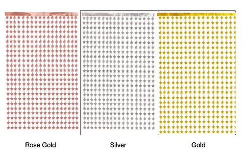 Gold Star Curtain