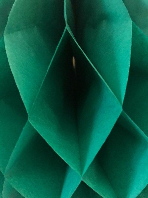 Bottle Green Honeycomb